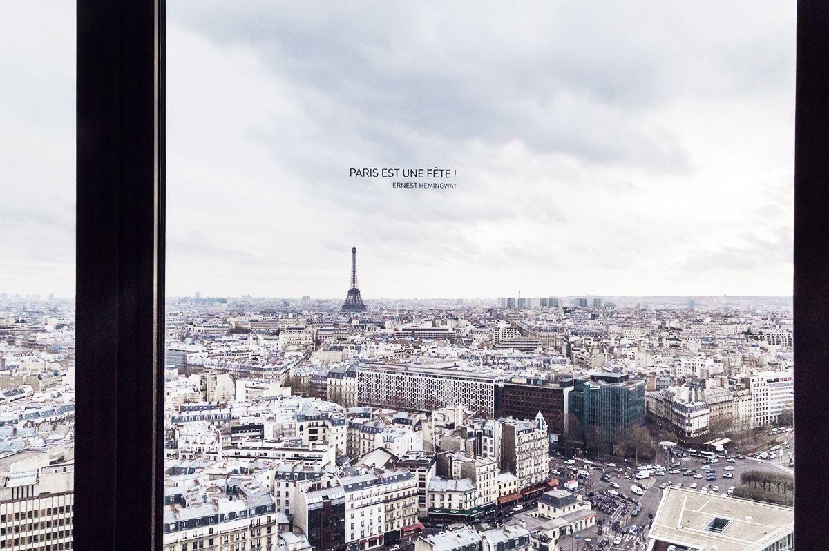 Hyatt Regency Paris Etoile - Eiffel Tower view  #bestview #eiffeltower #iloveparis