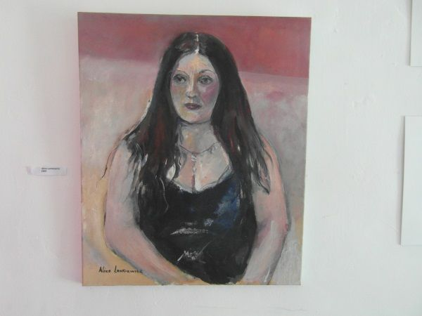 This is a painting I did of a good friend of mine called Sue Taylor.