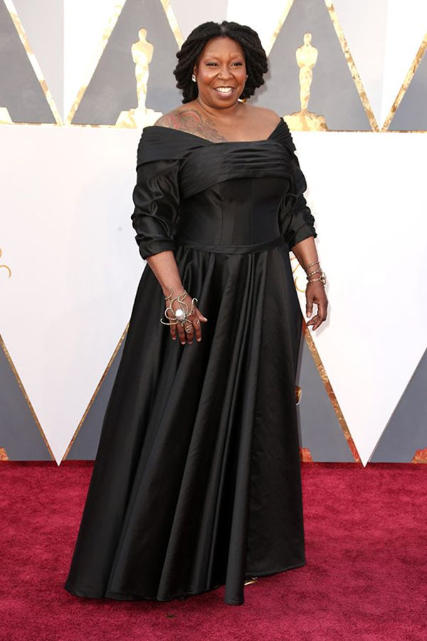 Every Oscar Dress Of 2016 Ranked Whoopi Goldberg In Dames New York