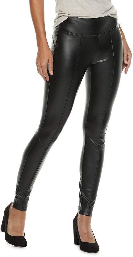 dc13ab23f9f57 Women's Rock & Republic® Faux-Leather Leggings | Products | Faux ...