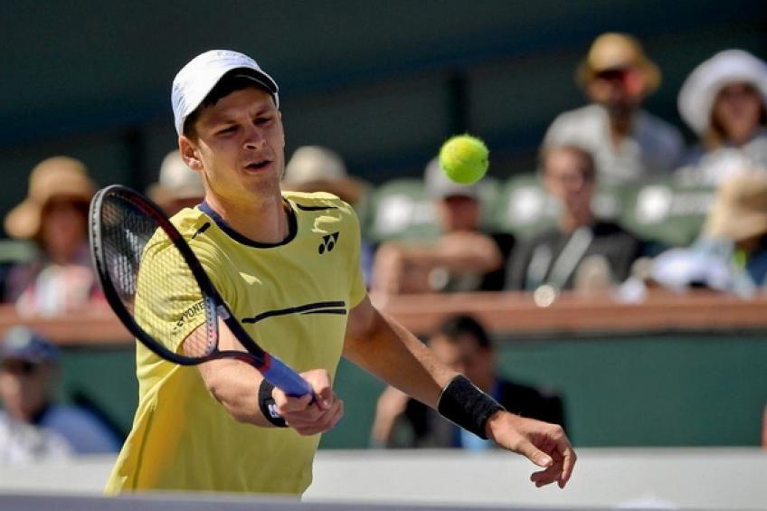 Atp Miami Hubert Hurkacz Upends Indian Wells Champion Dominic Thiem Miami Indian