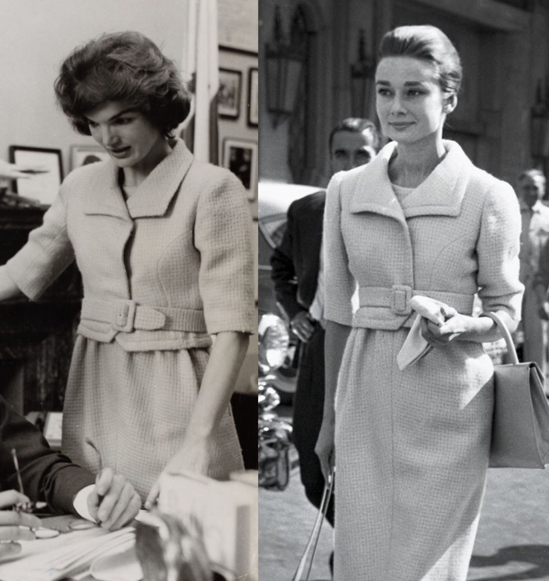 the best attitude dc218 16fb1 Jackie Kennedy and Audrey Hepburn wearing Givenchy | Jackie ...