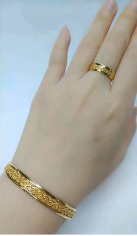 Latest Gold Bracelet And Ring Designs Simple Craft Ideas In 2020