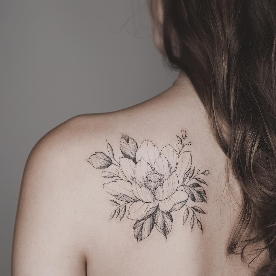 Lotus flower bomb Flower tattoo shoulder, Lotus tattoo