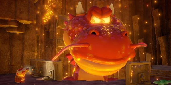 Riding mine carts and shooting turnips in Captain Toads Treasure Tracker -  Captain Toad's rise to fame has been, much like him, slow but steady. The fearless fungal explorer had cameos in Super Mario Galaxy before hitting the big time with his own