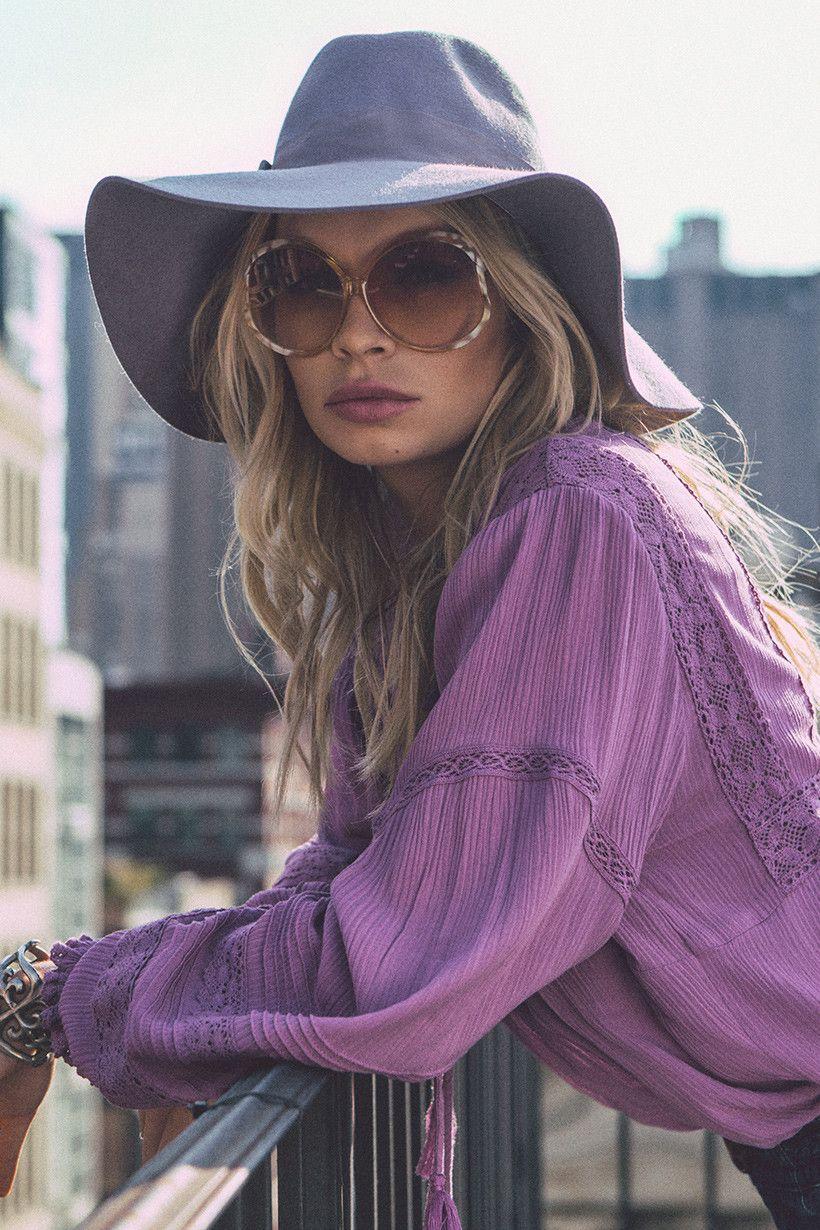Alexandra Spencer wears Spell Designs Boho Bella Blouse | boho babe ...