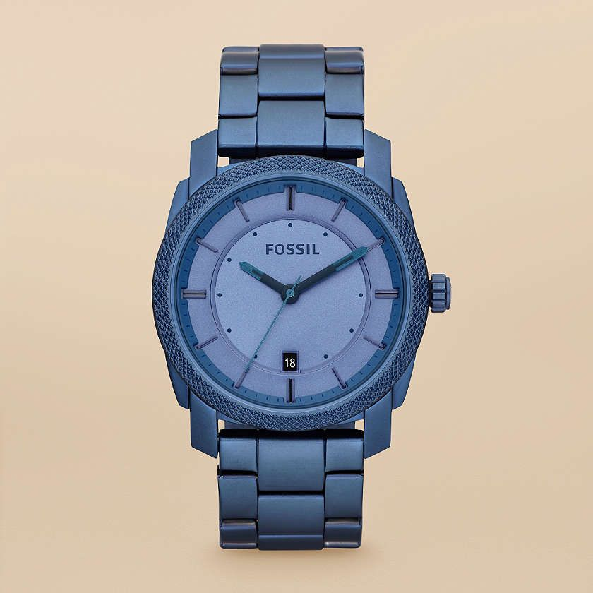 Fossil Machine Stainless Steel Watch