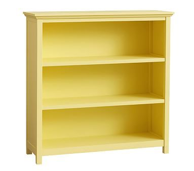 Cameron 3 Shelf Bookcase Soft Yellow