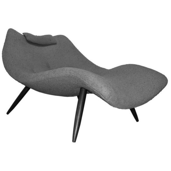 Modern Adrian Pearsall Chaise Lounge Chair 1828 C For Craft