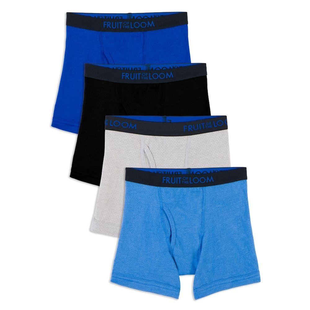 OCEAN-STORE Mens Underwear Pouch Shorts Underpants Breathable Soft Cotton Briefs Panties