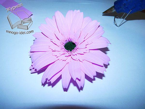 Гербера мастер класс из фоамирана Цветы своими руками