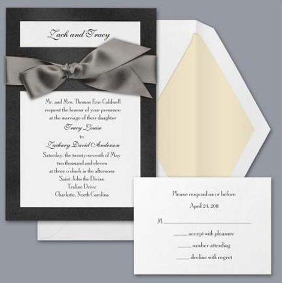 Formal Wedding Invitations 15 #wedding #bride