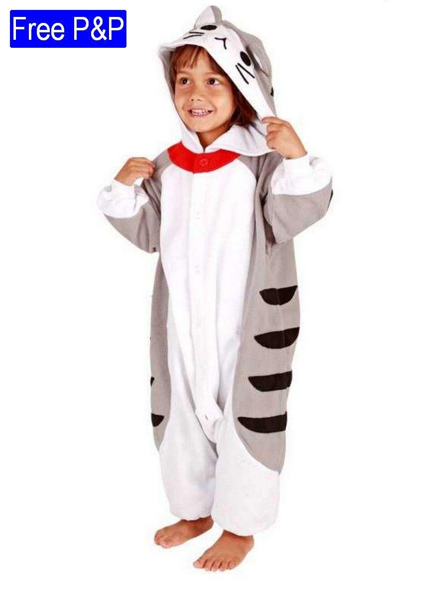 Child Kigurumi Tabby Cat