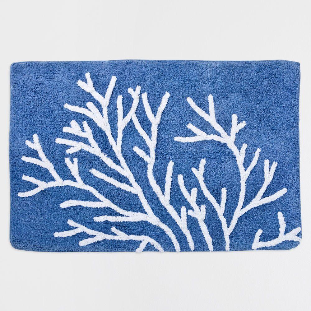 Coral Pattern Bath Mat Bathmats Bathroom Zara Home Egypt Patterned Bath Mats Zara Home Bath Mat [ 1000 x 1000 Pixel ]