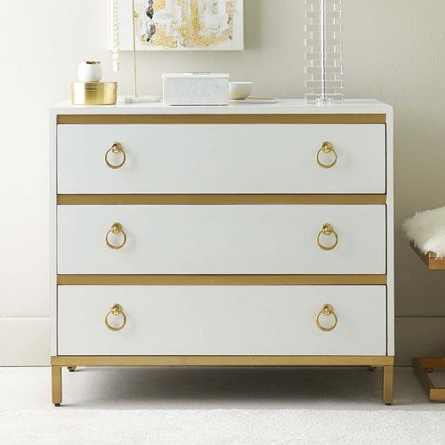 Found it at AllModern - Staveley 3 Drawer Dresser