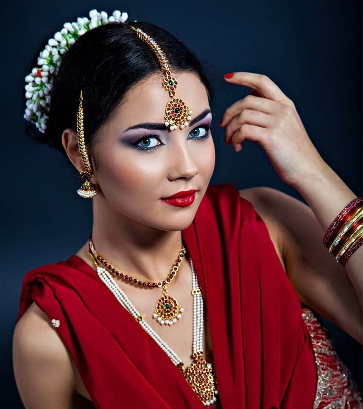 Ladies Hair Style Indian Wedding: 17 Winter Bridal Hairstyles For Indian Women