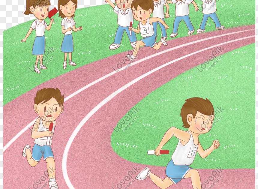 32 Gambar Kartun Sukan Olahraga Kartun Sukan Sekolah Rendah Dan Menengah Relay Perlumbaan Olahraga Lari Animasi Modul Sukan Olahraga Di 2020 Kartun Olahraga Gambar