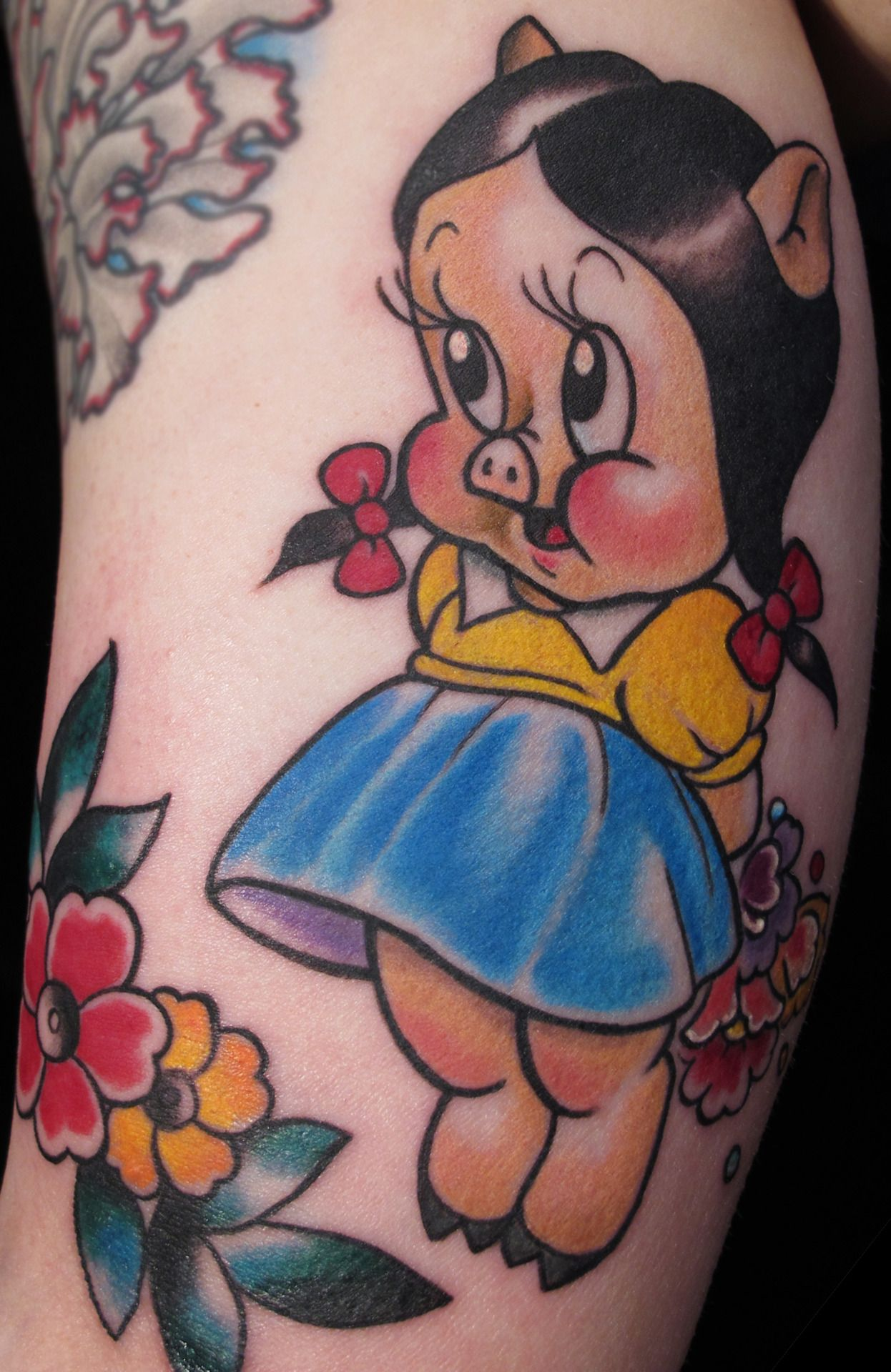 Tattoo Art Petunia The Pig Tattoo Design Tattoo Art