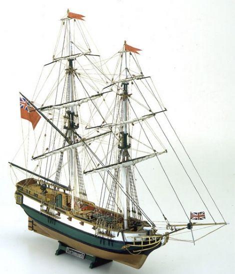 PORTSMOUTH - English Merchant Brig - Mamoli - Ship Model Kits | Modelbouw