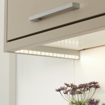 Led flexible strip lights from howdens create a stylish feature to led flexible strip lights from howdens create a stylish feature to any kitchen workwithnaturefo