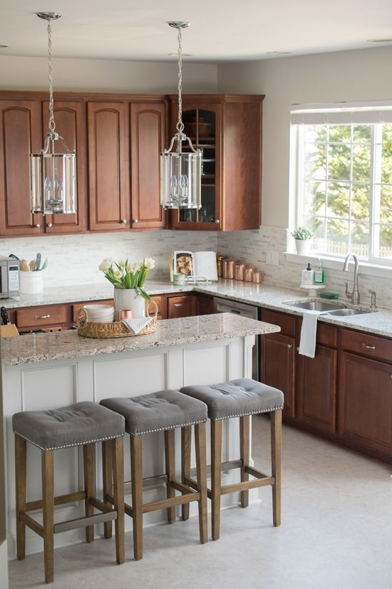 Kitchen Makeover Reveal - Craving some Creativity #traditionalkitchen