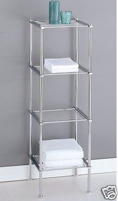 Bathroom Shelf Rack Toilet Stand Shower Towel Caddy Storage Cabinet Organizer Bathroom Storage Shelves Freestanding Bathroom Storage Small Bathroom Storage