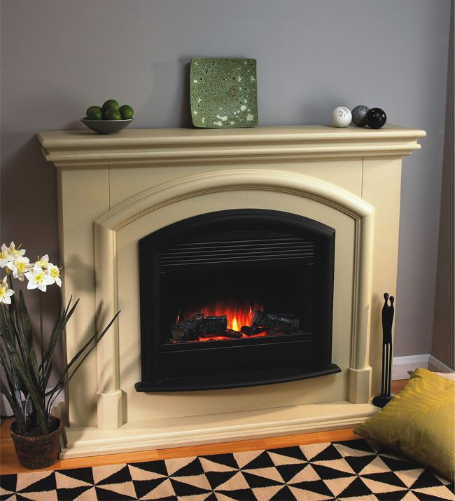 Flamerite Manhattan Electric Fireplace Suite Electric Fire