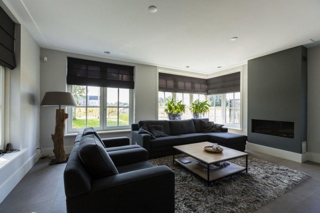 6. Villa bouwen interieur woonkamer - Ideeën voor het huis ...