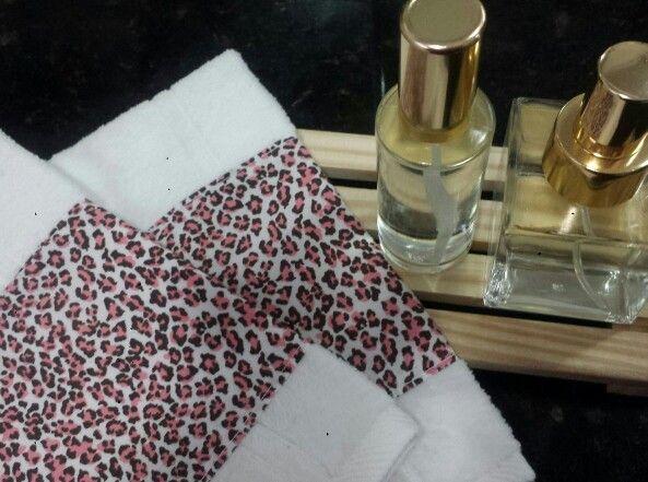 Kit de lavabo para o SPA ...aroma e toalhinhas lindas! By Princess SPA Party