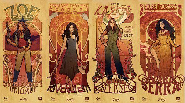 Crudmudgeonz Tumblr • Art Nouveau Firefly Prints
