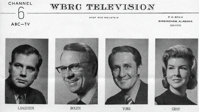 The Legends Of WBRC Channel 6 News ABC-TV Joe Langston,Bill