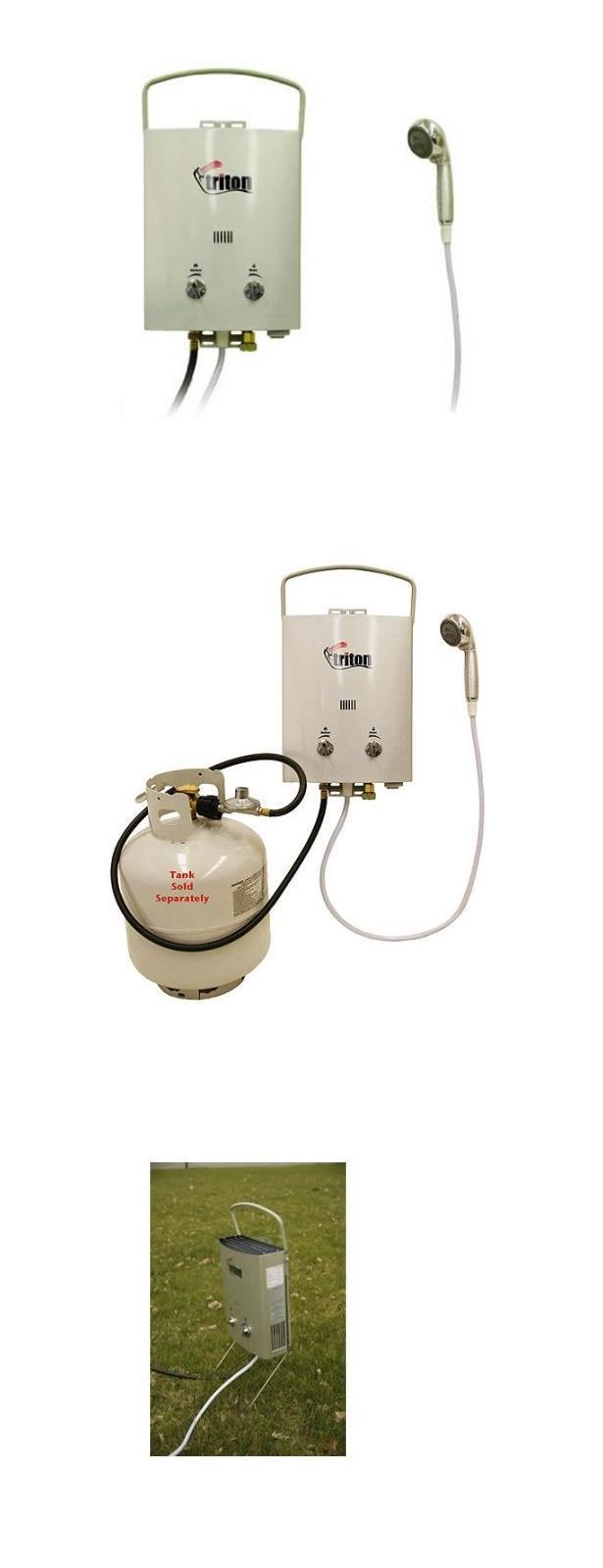 Hot Water Heater Accessories Portable Showers And Accessories 181396 Propane Hot Water Heater