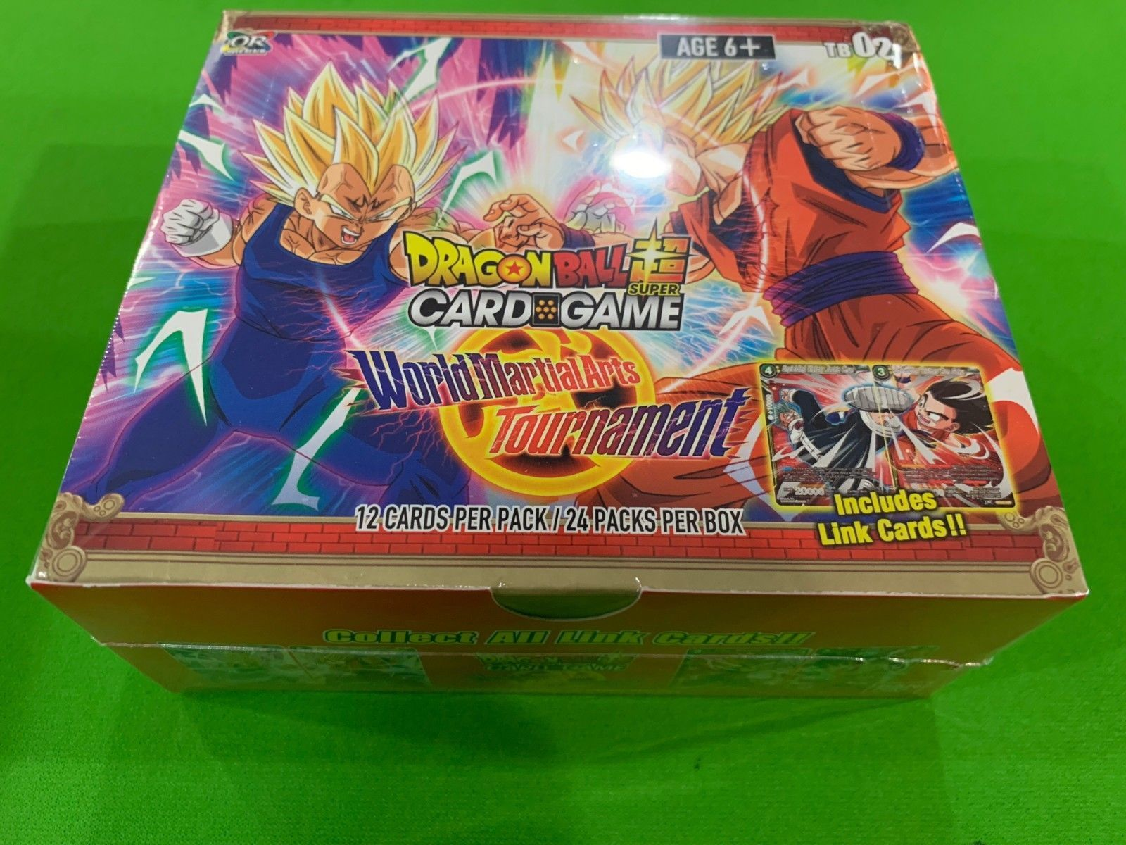 Dragon Ball Super World Martial Arts Tournament Booster Box New Sealed 24 Packs