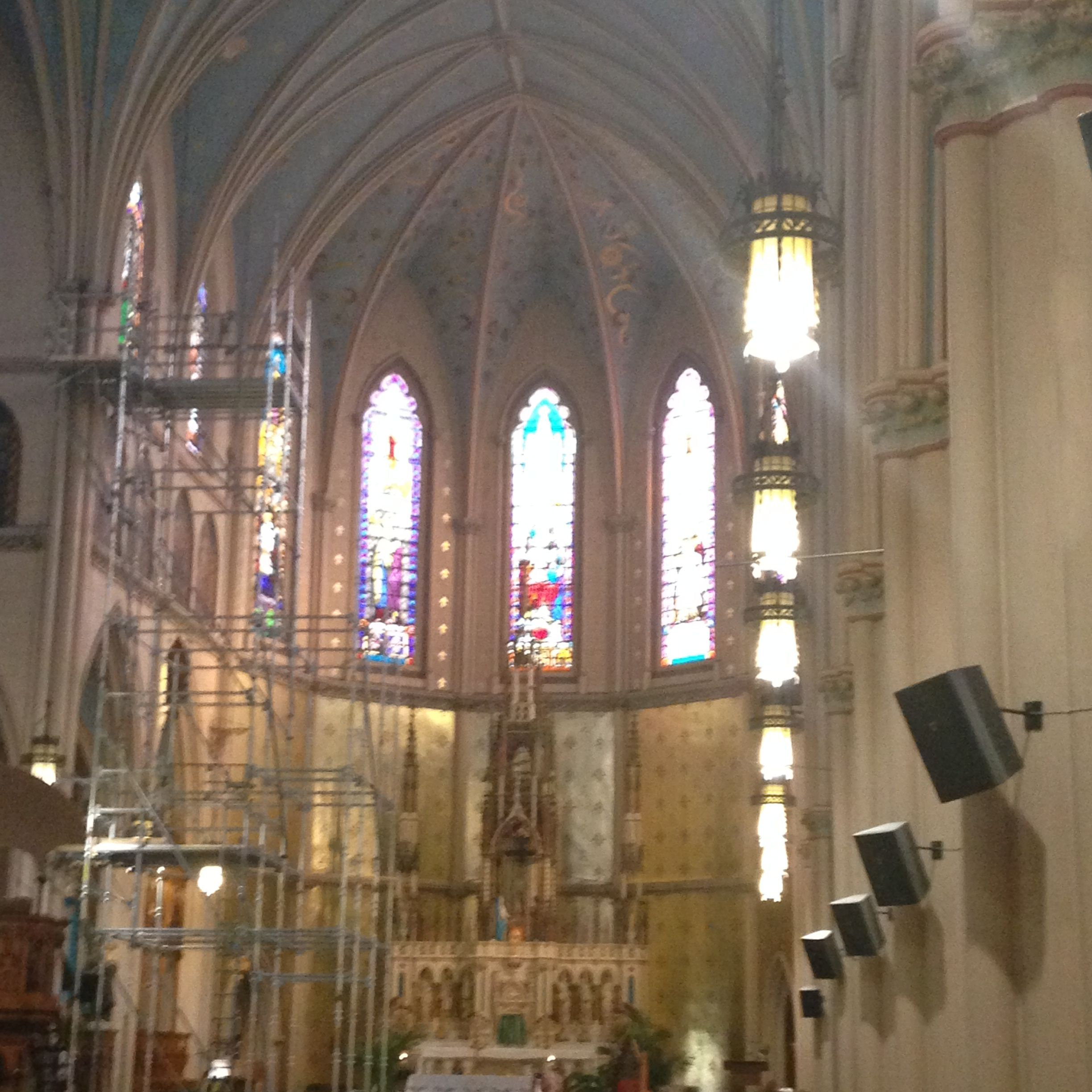Histortic Saint Anne De Detroit Churches Lends Tradition
