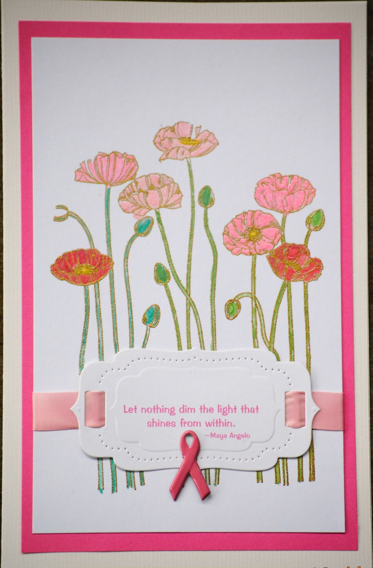 I just listed breast cancer awareness handmade greeting card 50 of i just listed breast cancer awareness handmade greeting card 50 of this card sale will be donated to the susan b coleman foundation on the craftstar m4hsunfo