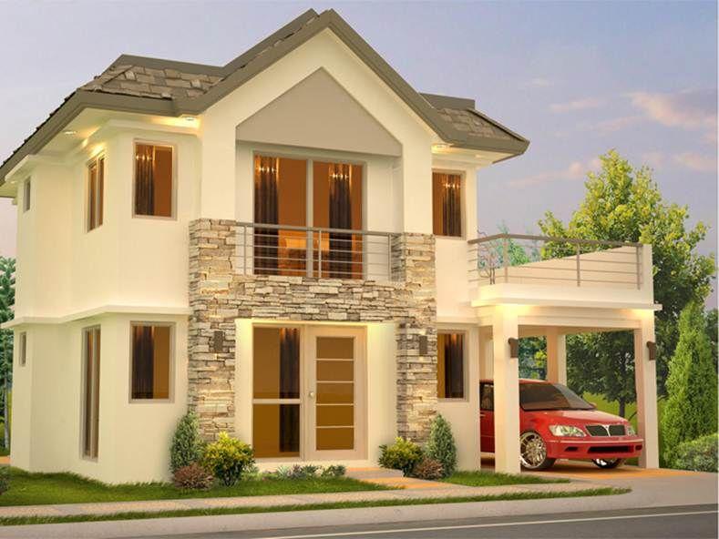 Superb 2 Story Home Designs Part - 5: Modern 2 Story Home Design Models
