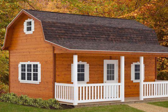 Cumberland Cabin By Weaver Barns In Sugarcreek Ohio Cabin Floor Plans House Floor Plans Cabin Floor