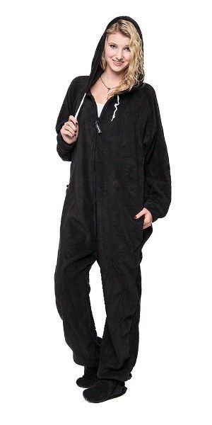 I need this! Footed Black to Sleep, One Piece Sleepwear, Footie ...