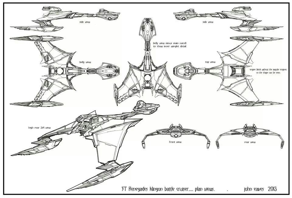 Startrekships Star Trek Klingon Star Trek Starships Star Trek Ships