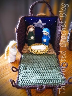 The Worsted Crochet Blog: Crochet Nativity Set!! (Part One) This ...