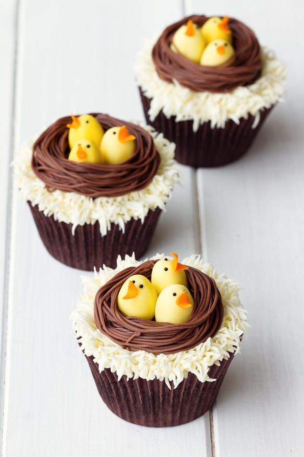 Rezept: Süße Oster-Cupcakes