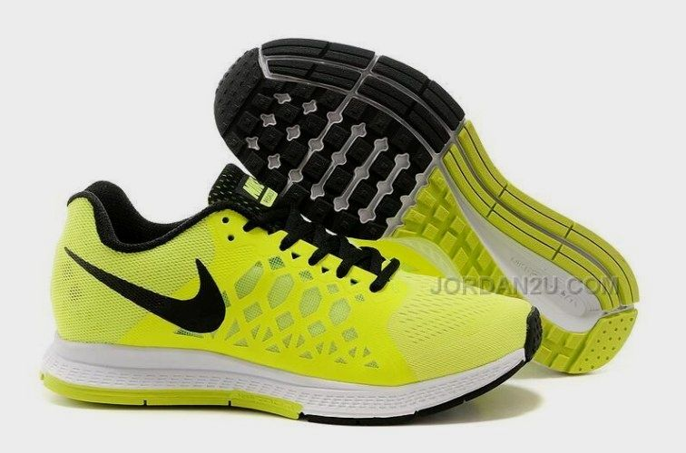 2015 Nike Zoom Pegasus 31 Damen Running Schuhe Lemon Yellow