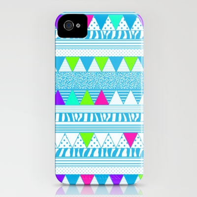 PLAYGROUND two ( p l a y f u l)  iPhone Case by vasare nar