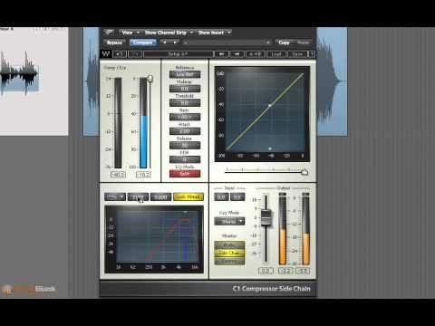 Mastering Audio In Logic De Essing Vocals With Waves C1 Compressor Music Tutorials Music Machine Audio