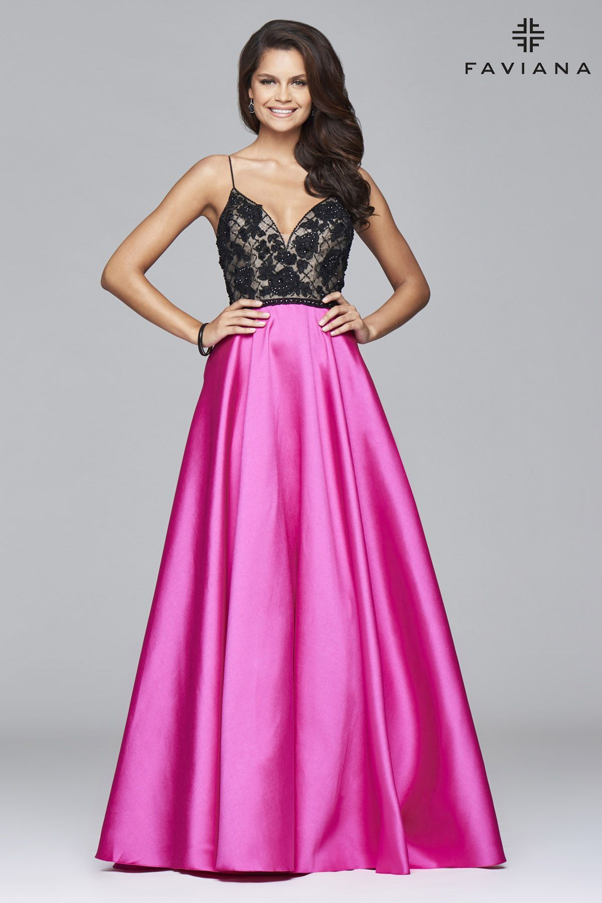 Faviana prom dress style s7947   dresses♡   Pinterest   Prom and ...
