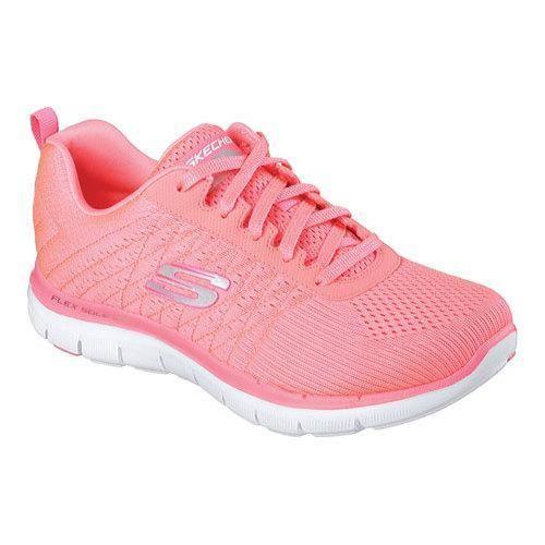 Skechers Air Cooled Memory Foam Tennis Womens walking Shoes