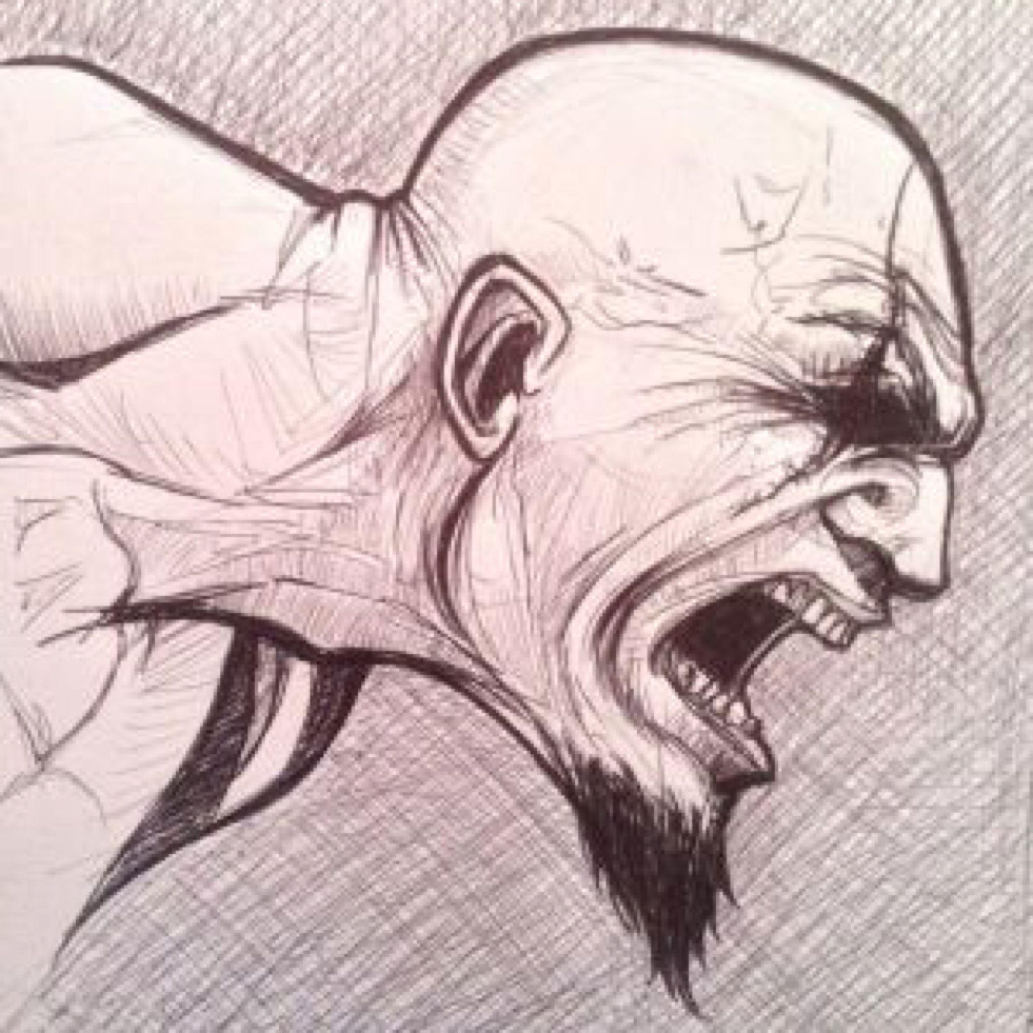 Kratos God Of War By Ultraseven81 On Deviantart Desenhos