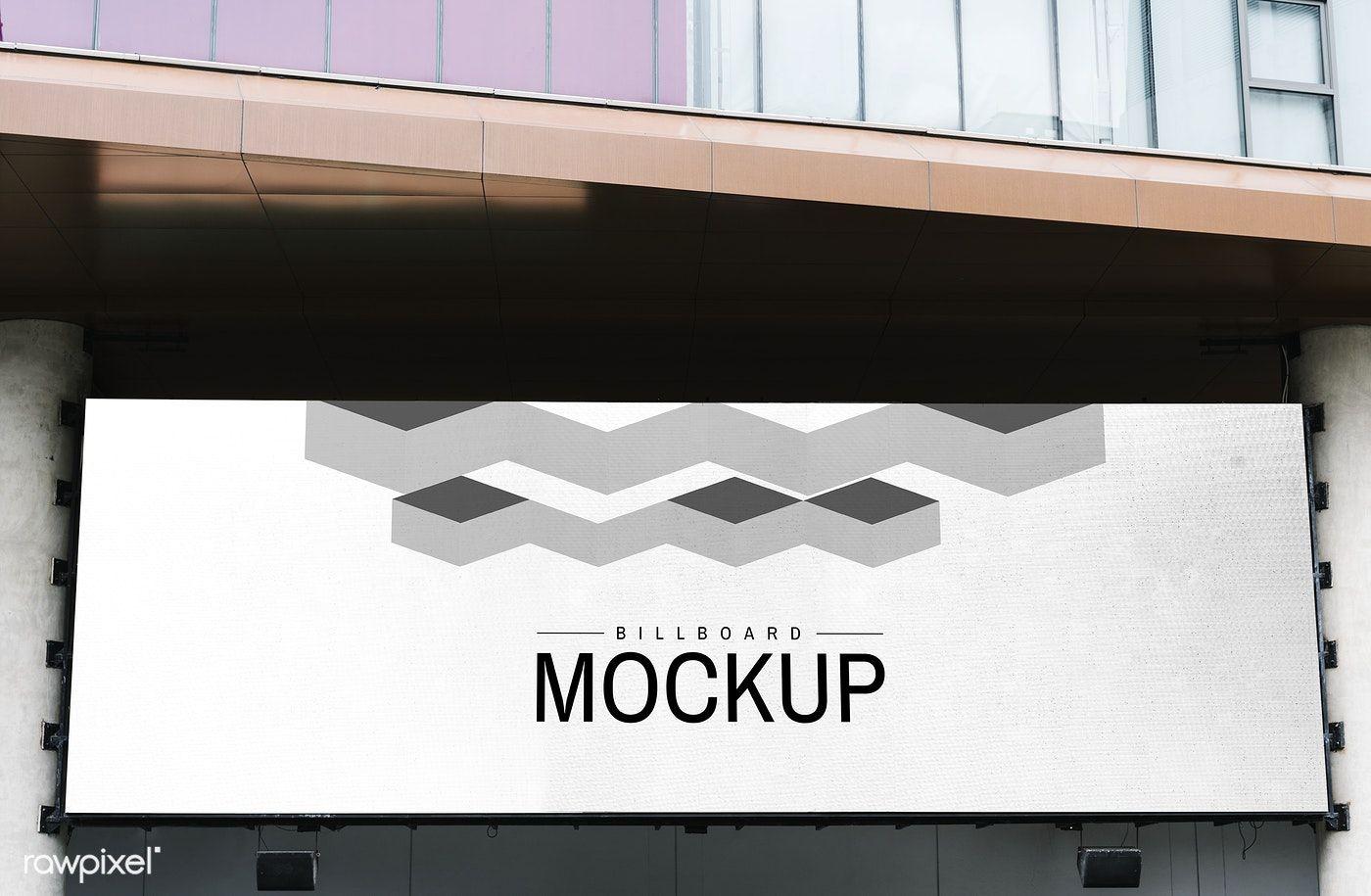 Minimal Large Scale Horizontal Billboard Mockup Free Image By Rawpixel Com Jira Billboard Mockup Business Brochure Design Billboard