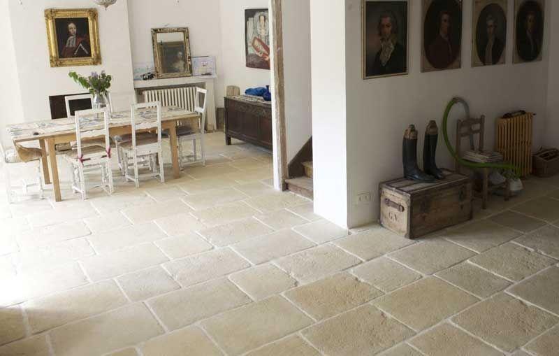 carrelage en béton aspect pierre - je veux le même en noir Sols - dalle beton interieur maison