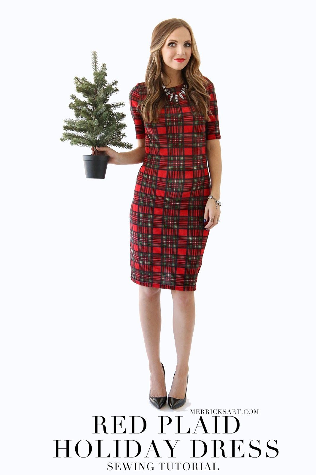 4d562bcfd2 MODERN GIRL S CHRISTMAS  RED PLAID DRESS